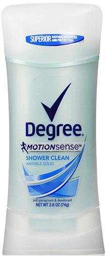 7. Degree MotionSense Anti-Perspirant & Deodorant