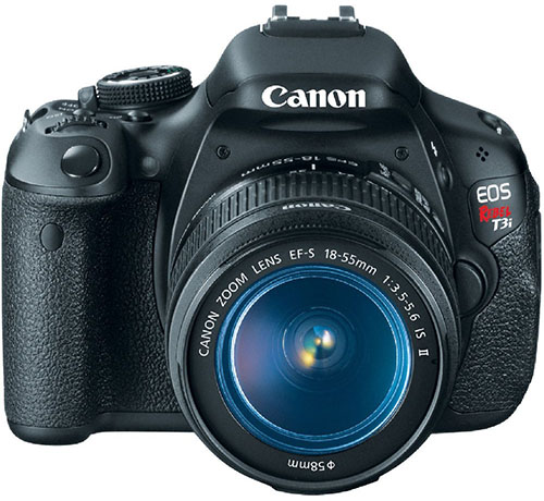 7. Canon EOS Rebel Digital SLR Camera