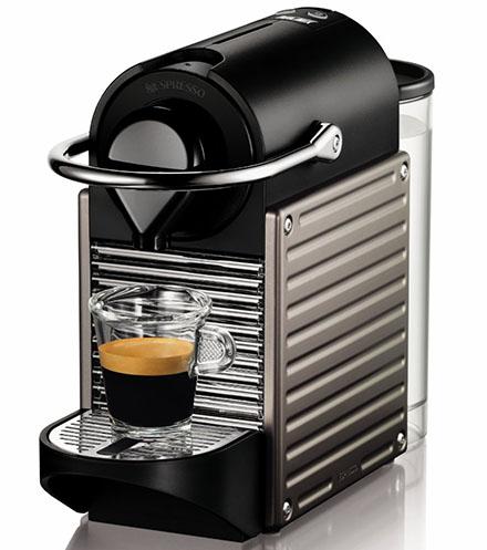 1. Nespresso Pixie Espresso Maker