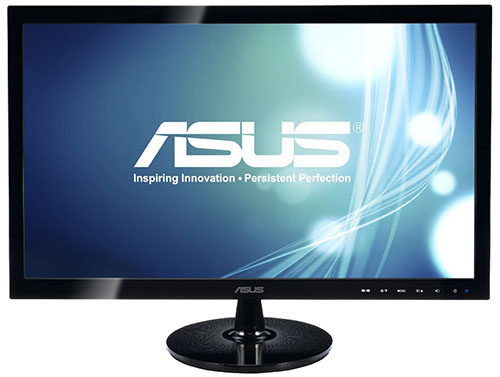 6. ASUS 24-inch Full HD Back-lit LED Monitor