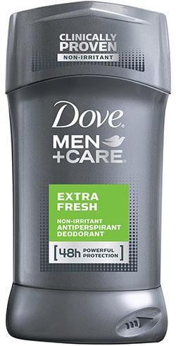 4. Dove Men+Care Antiperspirant Deodorant