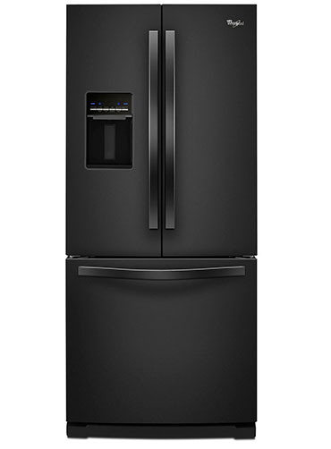 4. Whirlpool Black French door Refrigerator, Energy Star