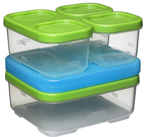 4. Rubbermaid Lunch Blox