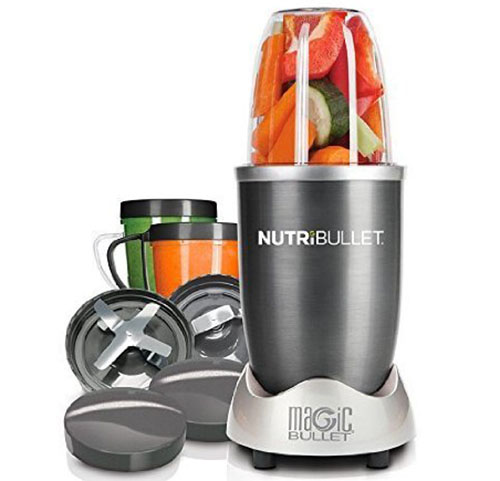 2. Magic Bullet NutriBullet 12-Piece High-Speed Blender