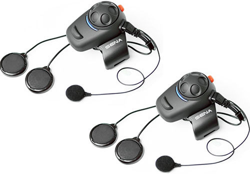 7. Sena Low-Profile Motorcycle and Scooter Bluetooth Headset