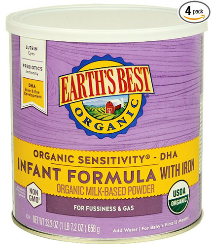 5. Sensitivity Infant Formula with Iron,