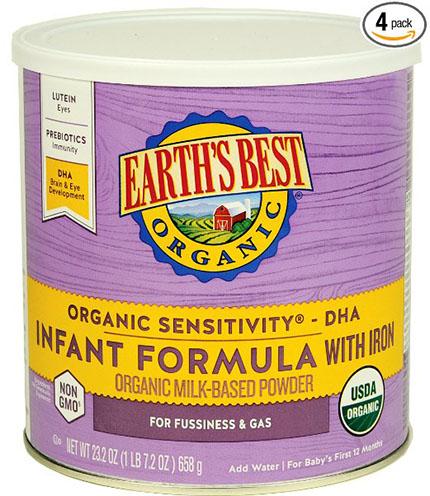 5. Sensitivity Infant Formula with Iron,