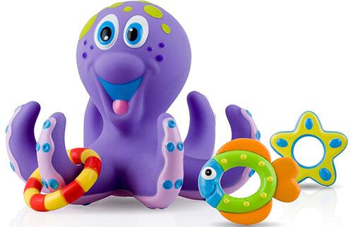 4. Octopus Hoopla Bathtime Fun