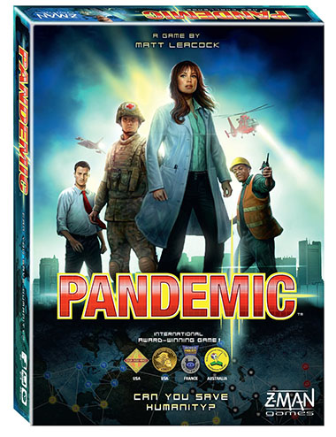 6. Pandemic Board Game