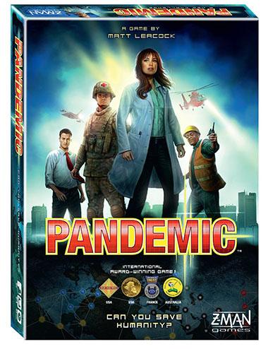 6. Pandemic Board Game