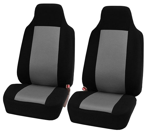 3. FH Classic Bucket Cloth Car Seat Covers