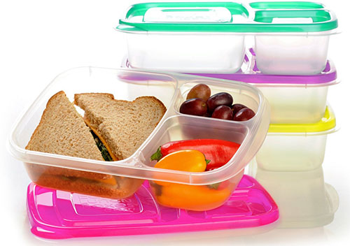 3. EasyLunchboxes 3-Compartment Bento Lunch Box