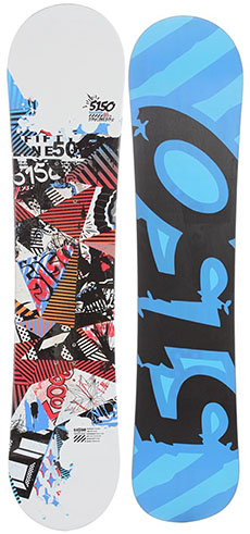 2. Shooter Snowboard 138 Youth