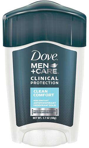 2. Dove Men+Care Clinical Deodorant