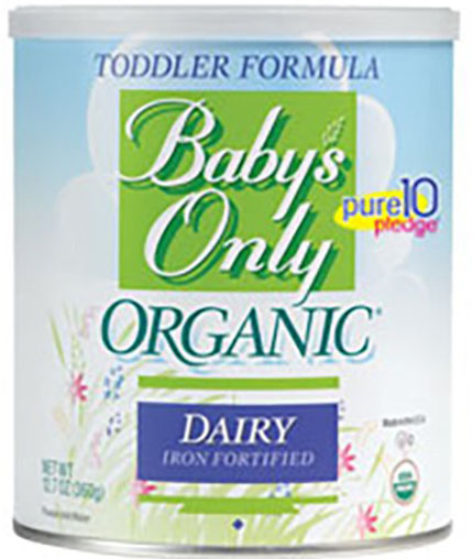 3. Baby's Only Organic Dairy Formula