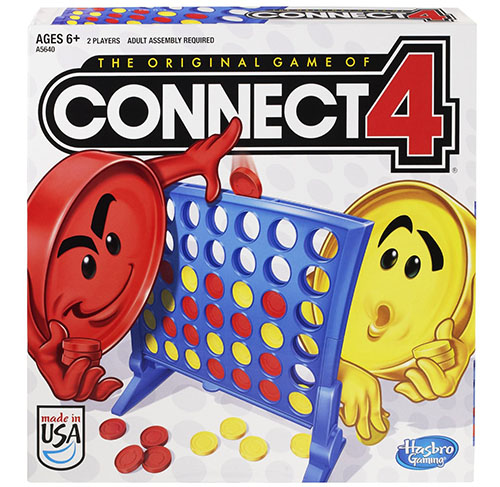 2. Hasbro Connect 4 Game