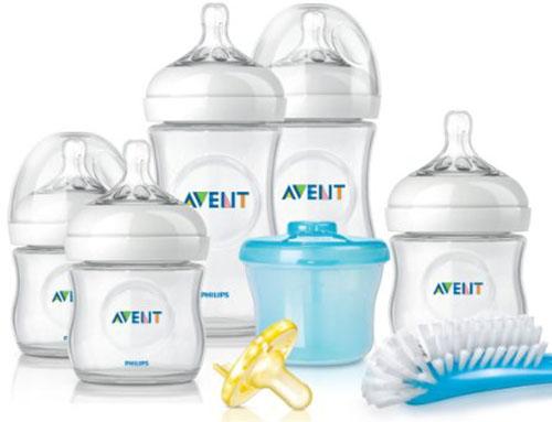 6. Philips Avent BPA Free Starter Gift Set