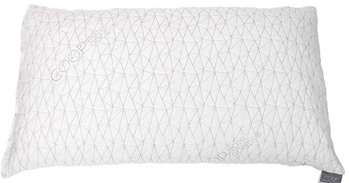 2. Adjustable Shredded Memory Foam Pillow