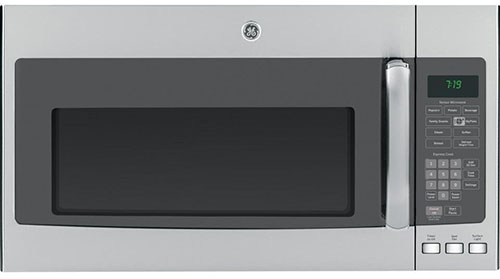 1.  GE JVM7195SFSS 1.9 Cu. Ft. Over-the-Range Sensor Microwave Oven In Stainless Steel