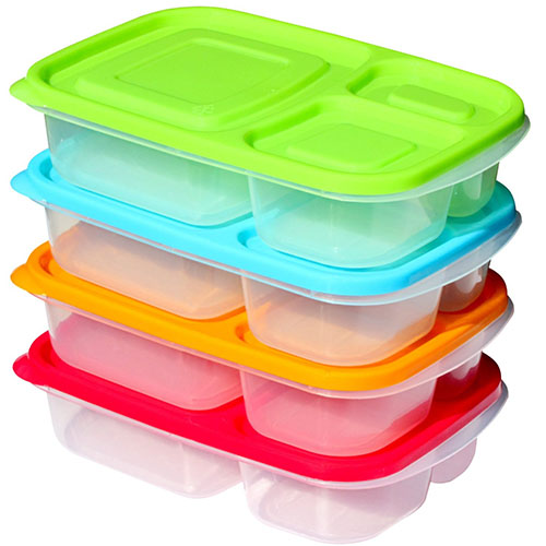 6. Sunsella Buddy Compartment Containers