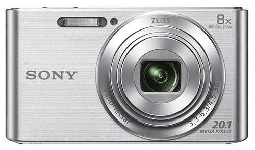 3. Sony DSCW830 20.1 MP Digital Camera with 2.7-Inch LCD (Silver)