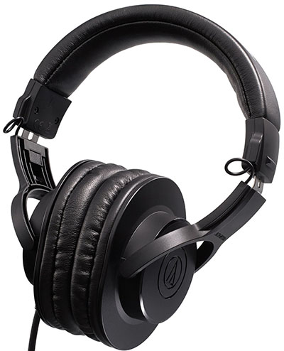 7. Audio-Technica Professional Headphones