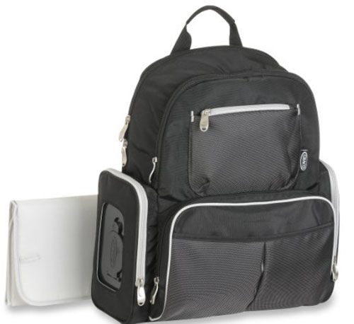 3. Organizer System BackPack Diaper Bag