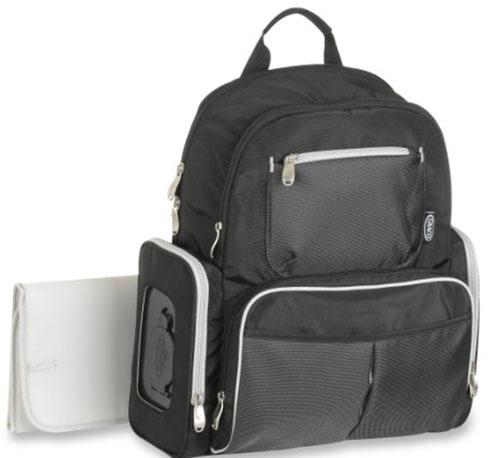 3. Organizer System BackPack Diaper Bag