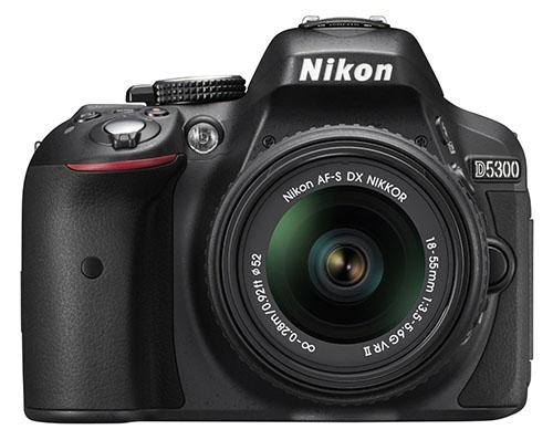 3. Nikon D5300 24.2 MP Digital SLR Camera