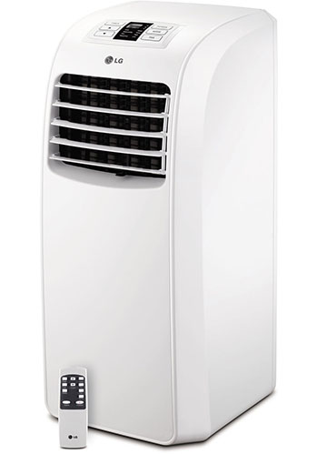 5. LG Electronics LP0814WNR 115-volt Portable Air Conditioner with Remote Control