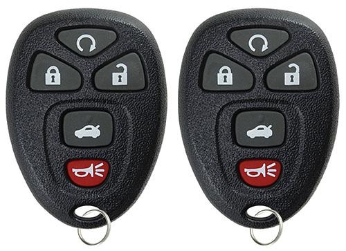 6. Keyless Entry Remote Start Control Car Key