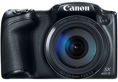 3. Canon PowerShot SX400 Digital Camera