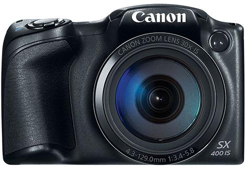 5. Canon PowerShot SX400 Digital Camera