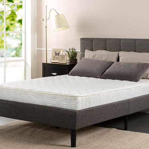 4. Sleep Master Pocketed Spring 8 Inch Classic Mattress