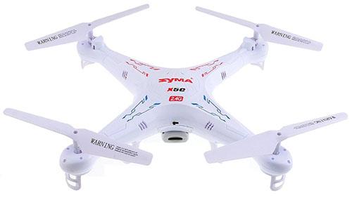 1. SYMA Explorers Gyro RC Quadcopter With HD Camera