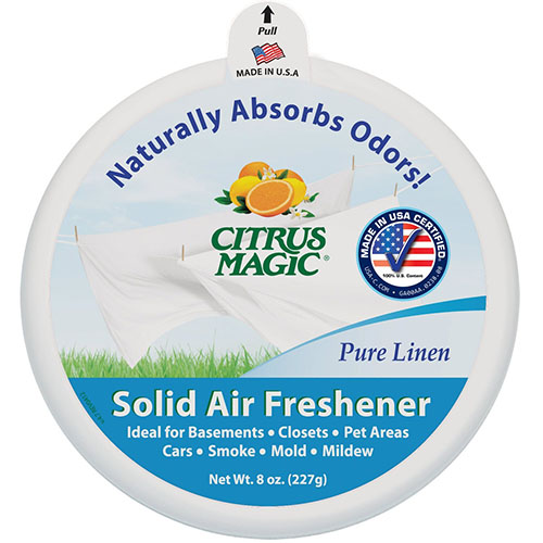 6Citrus Magic Odor Absorbing Solid Air Freshener
