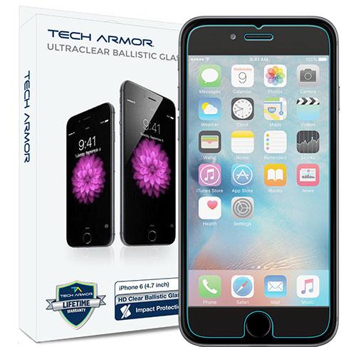 1. iPhone 6S Plus Glass Screen Protector, Tech Armor