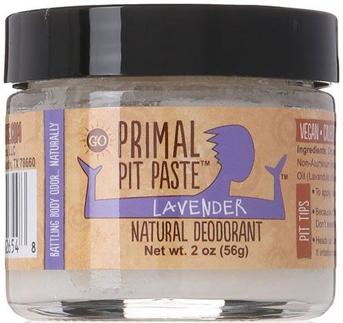6. Primal Pit Paste Deodorant