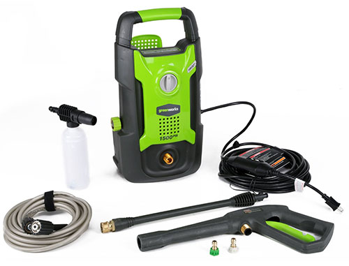 5.  GreenWorks GPW1501 1,500 PSI 1.2 GPM 13AMP