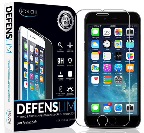6. Best iPhone 6 Plus & 6s Plus Screen Protector - Ballistic HD Ultra