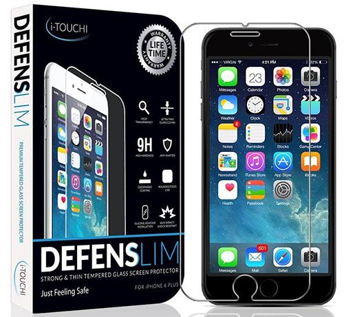 6. Best iPhone 6 Plus & 6s Plus Screen Protector - Ballistic HD Ultra