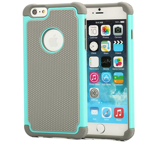 3. iPhone 6 Plus 5.5 Case Dual Layer