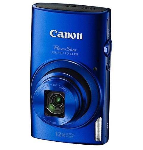 4. Canon PowerShot ELPH 170 IS (Blue)