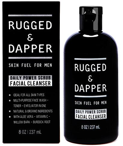2. Daily Power Scrub Facial Cleanser
