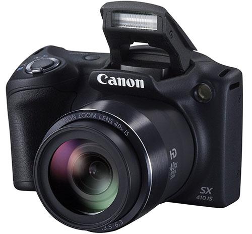 6. Canon PowerShot SX410 IS (Black)
