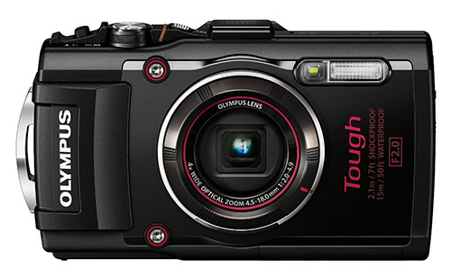 3. Olympus TG-4 16MP Waterproof Digital Camera With 3-Inch LCD (Black)