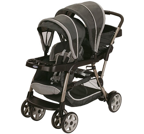 5. Graco Ready2grow LX Stroller