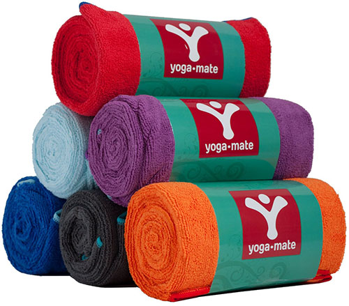 6. Yoga Towel by YogaMate