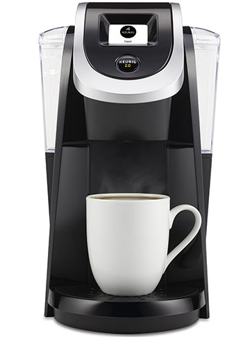 3. Keurig K250 2.0 Brewing System, Black