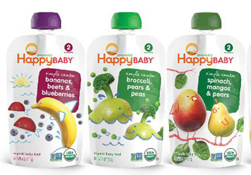 5. Happy Baby Organic Baby Food, Stage 2